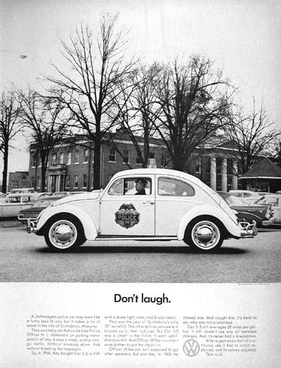 """Не се смей."" - Рекламна агенция Doyle Dane Bernbach, 1959"